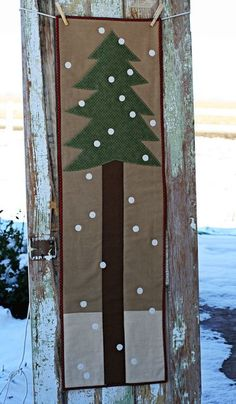 To Insp.: Great runner or wall hanging for outside the kitchen!