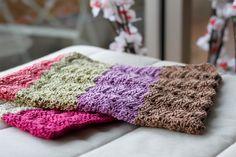 Chevron Baby Blanket crocheted in soft coton
