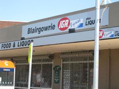 IGA , Blairgowrie
