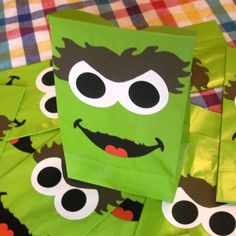Oscar treat bags