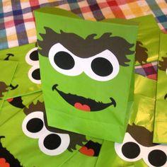 Oscar treat bags