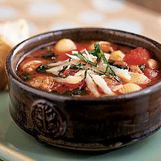Italian Sausage Soup. Easy & Heathy