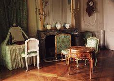 Les appartements de Madame de Pompadour.