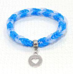 Reyes-Syndrome-Awareness-Bracelet-Handmade-Woven-Rainbow-Loom-Bracelet