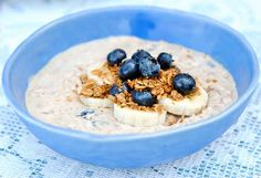 Blueberry Banana Overnight Oats | 19 Overnight Oats Recipes To Restore Your Faith In Breakfast