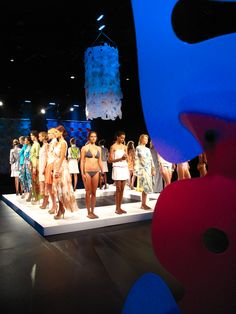 Lumaquilt all over New York Fashion Week