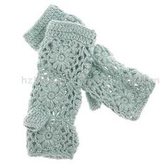 crochet gloves.