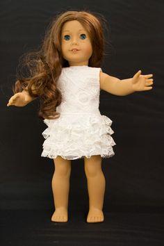 American Girl Summer Dress  Festive by Fancy247 on Etsy, €22.00