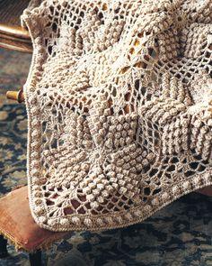 Bobble Star Afghan | crochet today
