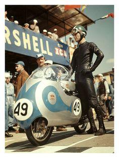 Vintage Ducati racer