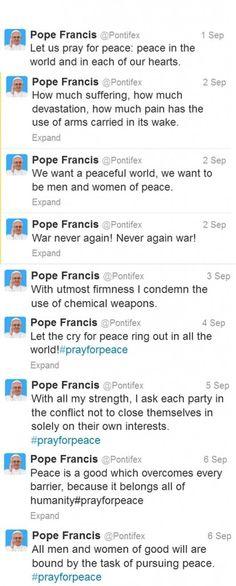 #PrayforPeace: A Tweet-cyclical