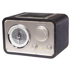 Crosley Solo® AM/FM Tabletop Radio - Black (CR3003A-BK)