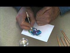 watercolor techniqu, stamp video, watercolor pictur, scrapbook inspir, tecnica de