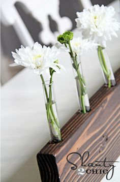 Make this clever vase and base with this tutorial.  AND 45 BEST Weekend Lifestyle DIY Tutorials EVER. GIFT DECOR, FURNITURE, JEWELRY, FOOD, WHIMSEY, PARTY from MrsPollyRogers.com