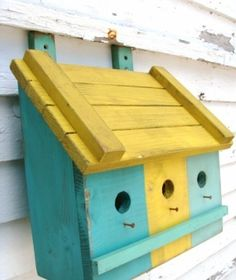 birdhouse idea for fence by MyLittleCornerOfTheWorld