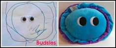 Turn your kid's artwork into stuffed toys