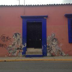 #oaxaca #streetart @ #galeriamanuelgarcia (at Tinoco Y Palacio)