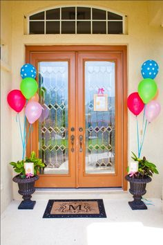 Decorate the front porch so that guests feel comfortable enough to just walk right in