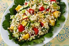 couscous salad, summer fruits, isra couscous, olive oils, avocado, picnic recipes, summer salads, meal, vegan salads