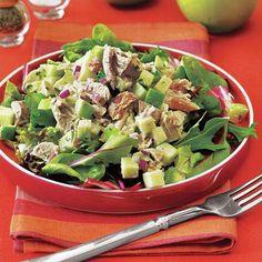 Easy summer dinner ideas: Chicken and Apple Salad recipe