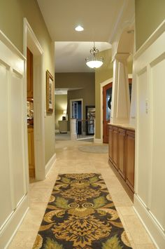 Beautiful, warm and inviting. Paint is Burlap by Sherwin Williams