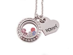 Small Locket And Personalized Heart