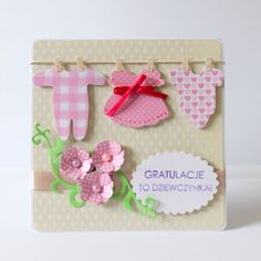 Cute baby girl card (po godzinach)