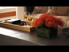 See how you can create color flow in your home using accessories and furnishings.