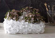 DIY crystal planter!
