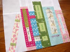 Book quilt.  How cute is that!