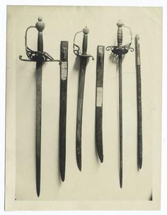 Vintage pilgrim swords