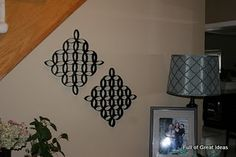 wall art, wall hangings, wall decor, craft, toilet paper rolls