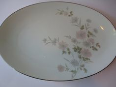 Vintage Noritake Barbara Pastel Oval Serving by thechinagirl, $24.50