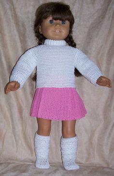 PDF Crochet Pattern  18 inch  In the Pink 111. $3.99, via Etsy.