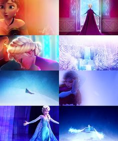 Stills from Frozen//For @Anna Totten Totten Gillis.  SEEEEE. ANNA IS STILL BLOND.