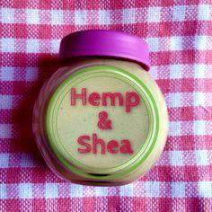How to Make Homemade Hemp & Shea Cream