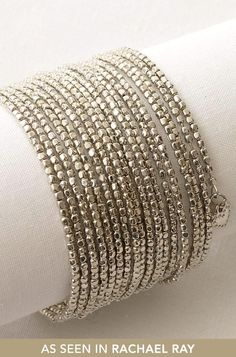 Memory wire and seed beads.