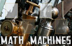TOUCH this image: Welcome to the Math Machines (interactive resource for 4th Math intervention)! by Lorrie