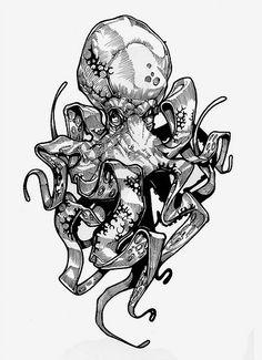 Octopus tattoo idea