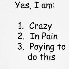 #CrossFit work, crossfit obsess, crossfit sayings, half marathons, running races, roller derby sayings, roller derbi, marathon training, motiv