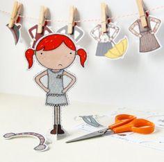 paper dolls for kids 4 Toys & Games badge