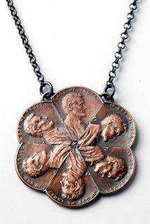 Penny Jewelry - Coin Accessories for Fashionable Recessionistas (GALLERY)