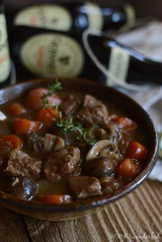 #Guinness Beef Stew Recipe - wonkywonderful.com