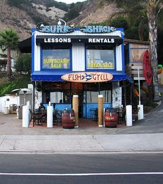 Malibu Surf Shack Fish Grill by TimSchmidt (Digammo), via Flickr