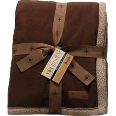 Journey Brown Fleece Blanket (@ Meijer.com)    #MeijerDormDecor #DormDecor