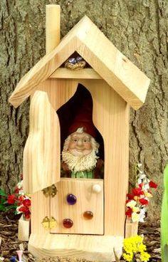 DIY Garden Gnome Home.