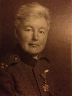 Flora Sandes served in WW1 dressed as a man. She was awarded the Kara George Star and later became a Captain.