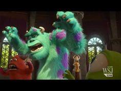 """Pixar's """"Monsters University"""" - Exclusive Clip, wsj #Monsters_Inc #Pixar"""