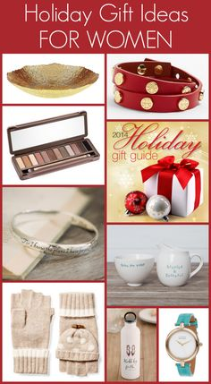 Holiday Gift Ideas for Women: The ultimate guide for finding fabulous gift ideas for every woman on your Christmas list.