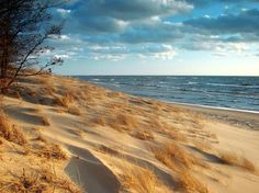 Hoffmaster State Park  In Muskegon, Michigan